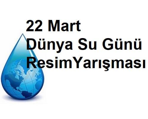 Turkiye Geneli 22 Mart Dunya Su Gunu Resim Yarismasi Bilim Senligi