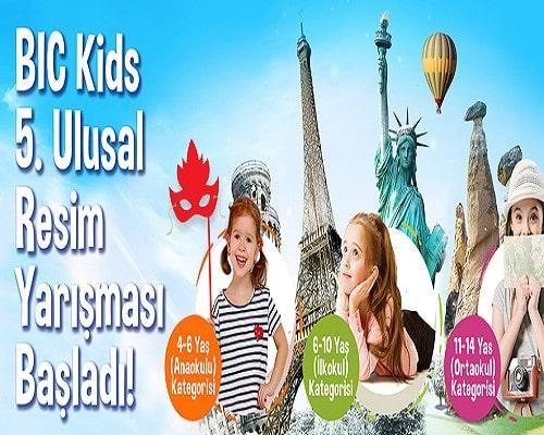 BIC Kids 3. Ulusal Resim Yarışması – 2018 Çocuk Yarışmaları