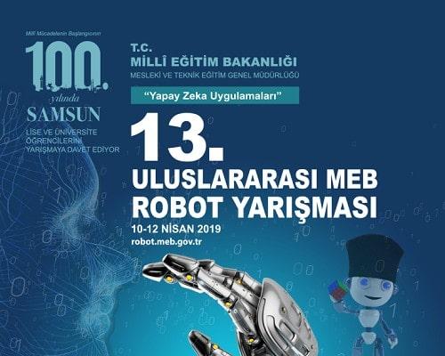 13. Uluslararası MEBRobotYarışması ile ilgili görsel sonucu