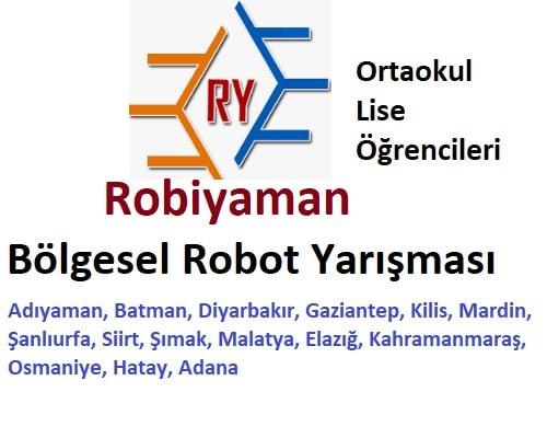 2 Robiyaman Bölgesel Robot Yarışması Bilim şenliği