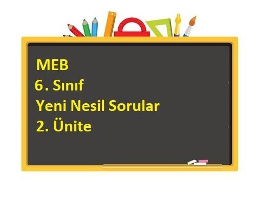 MEB 6. Sınıf