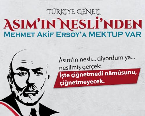 Milli Şairimiz Mehmet Akif Ersoy