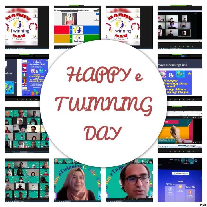 e Twinning Günü kutlaması